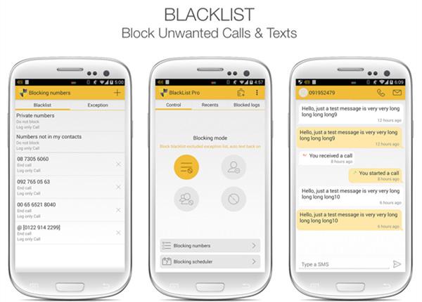 BlackList App